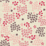 Seamless retro floral background in vector Stock Photos