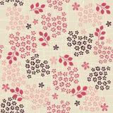 Seamless retro floral background in vector Stock Photos