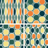 Seamless retro geometric pattern Royalty Free Stock Photography
