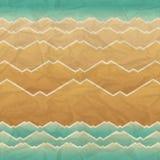 Seamless retro geometric pattern Royalty Free Stock Photo