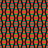 Seamless retro geometric pattern design texture background Royalty Free Stock Photo