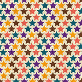 Seamless retro geometric pattern. EPS10 vector Royalty Free Stock Image