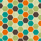 Seamless retro geometric pattern. EPS10 vector Royalty Free Stock Images
