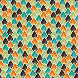 Seamless retro geometric pattern. EPS10 vector Stock Images