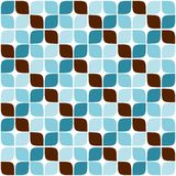 Seamless Retro Geometric Pattern 03 Stock Images