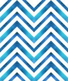 Seamless retro geometric pattern with zigzag lines.
