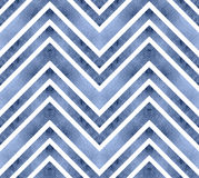 Seamless retro geometric pattern with zigzag lines. Stock Photography