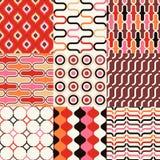 Seamless retro geometric wallpaper. Pattern Royalty Free Stock Photo