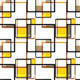 Seamless retro geometrical textile pattern background Royalty Free Stock Photo