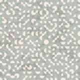 Seamless Retro Grunge Geometric Circle Shapes Pattern Royalty Free Stock Photo
