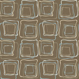 Seamless retro irregular squares Royalty Free Stock Photo