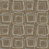 Seamless retro irregular squares. Irregular squares background Royalty Free Stock Photo