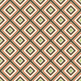 Seamless retro ornament squares  Stock Photos