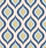 Seamless retro ornament wallpaper pattern Stock Photos
