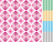 Seamless retro pattern. Full samless retro pattern. 5 swatch pattern included in additional EPS (Ai) file (on the swatch panel&#x29 royalty free illustration