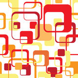 Seamless retro pattern. Bright geometrical seamless retro ornament Stock Images