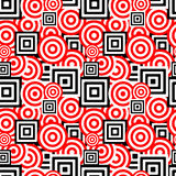 Seamless retro pattern Stock Photography