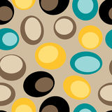 Seamless retro pattern. Seamless vector retro tile pattern Royalty Free Stock Images