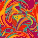 Seamless retro pattern Stock Photo