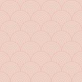 Seamless retro pattern with circles Stock Photo