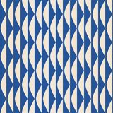 Seamless retro pattern with geometric shapes royalty free illustration