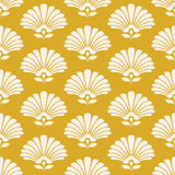 Seamless retro pattern with stylized flowers Stock Photos