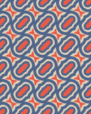 Seamless retro pattern royalty free illustration