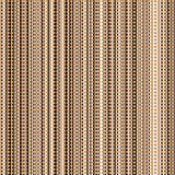 Seamless Retro Pattern with Vertical Stripes and Circles Stock Images