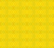 Seamless retro pattern yellow single color vector illustration