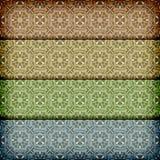 Seamless retro patterns pattern Stock Photography