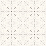 Seamless retro polka dot pattern. Stock Photography
