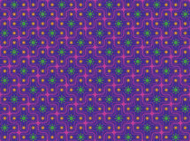 Seamless Retro Psychedelic Pattern royalty free illustration