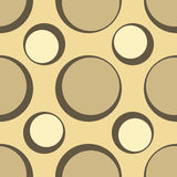 Seamless retro spots design Royalty Free Stock Photos