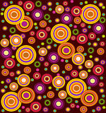 Seamless retro style pattern Royalty Free Stock Photography