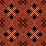 Seamless retro tartan checkered texture plaid pattern terracotta Stock Photos