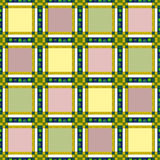 Seamless retro textile checkered texture pattern background Royalty Free Stock Photo