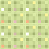 Seamless retro textile checkered texture plaid pattern backgroun Stock Photography