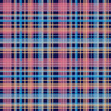 Seamless retro textile tartan checkered plaid pattern background Stock Images