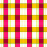 Seamless retro textile tartan checkered plaid pattern background Stock Images
