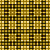 Seamless retro textile tartan checkered plaid pattern background Royalty Free Stock Images