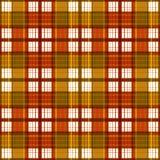 Seamless retro textile tartan checkered plaid pattern background Stock Photography