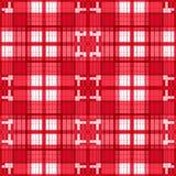 Seamless retro textile tartan checkered plaid pattern background Royalty Free Stock Image