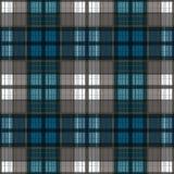Seamless retro textile tartan checkered plaid pattern background Stock Photos