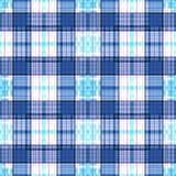 Seamless retro textile tartan checkered texture plaid pattern ba Stock Images