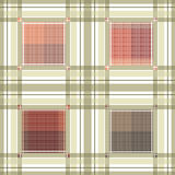 Seamless retro textile tartan checkered texture plaid pattern ba Royalty Free Stock Photos