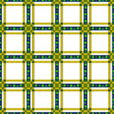 Seamless retro textile tartan checkered texture plaid pattern ba Stock Photo