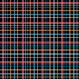 Seamless retro textile tartan checkered texture plaid pattern ba Royalty Free Stock Photo