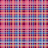 Seamless retro textile tartan checkered texture plaid pattern ba Stock Image
