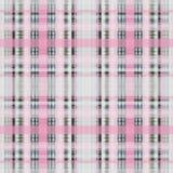 Seamless retro textile tartan checkered texture plaid pattern. Print stock illustration