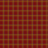 Seamless retro textile tartan red checkered texture plaid patter Royalty Free Stock Images